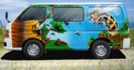 Busy Bees Self Contained Campervan