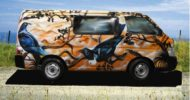 Orange Tui Campervan